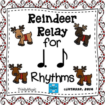 Reindeer Relay Rhythm Game (Tam Ti)