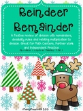 Reindeer Remainder: A Christmas/Holiday Division Math Review
