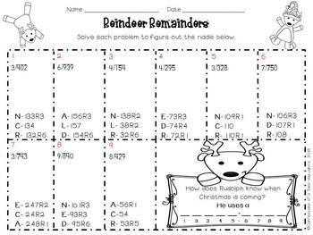 Reindeer Remainders