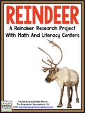Christmas!  Reindeer Research! A Research And Writing Creation