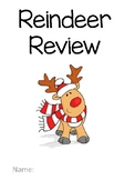 Reindeer Review Multiplication and Division Packet