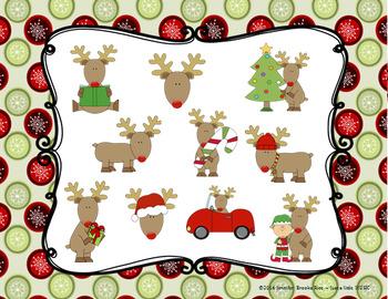 Reindeer Rhythms -- An Aural Rhythm Recognition Game {ta titi rest}