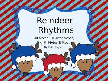 Reindeer Rhythms with Half Notes