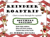 Reindeer Roadtrip Southern Edition: Math and Social Studies Center