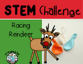 Reindeer Rocket Christmas STEM Engineering Challenge