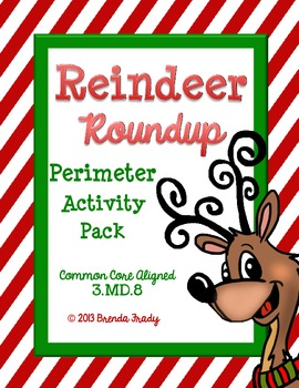 Perimeter Performance Task ~Reindeer Round Up~