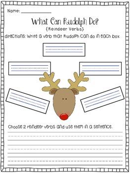Reindeer Roundup Literacy Unit