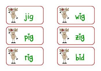 Reindeer Roundup (Short /i/ Centers)