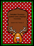 Reindeer Roundup! Speech and Language Activities