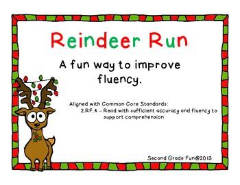 Reindeer Run - Fluency Practice