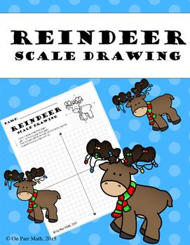 Reindeer Scale Drawing