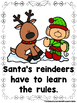 Reindeer School  (A Sight Word Emergent Reader and Teacher