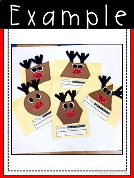 Reindeer Shape Craft