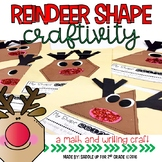 Reindeer Shape Craft