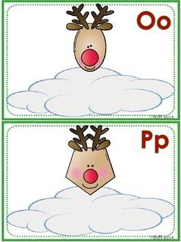Reindeer Shapes Fun! Playdoh Activity Pack