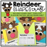 Reindeer Shapes Math Craft