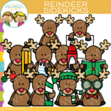 Sidekicks Reindeer Clip Art