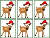 Reindeer Sight Word Flashcards - Dolch Pre-Primer List Through Second Grade