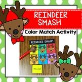 Reindeer Smash Color Identification Preschool Prek Homesch