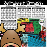 Reindeer Smash: Letter/Sound/Number Mats, No Prep