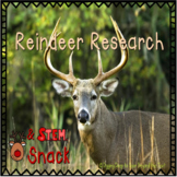 Reindeer Research & Snacky STEAM Activity
