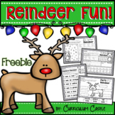 Reindeer Holiday Activities FREEBIE!