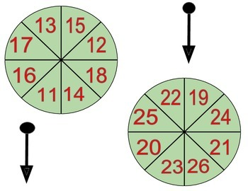 Reindeer Spin (Christmas Math Game)