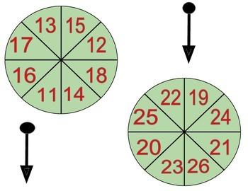 Reindeer Spin (Christmas Math Game)