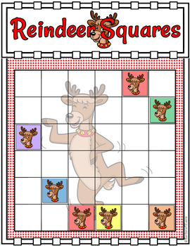 LATIN SQUARES Reindeer Squares Critical Thinking GATE Differentiated