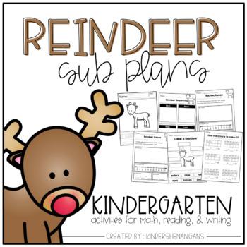 Reindeer Sub Plans