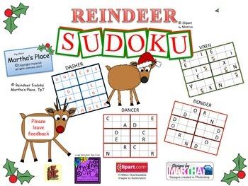Reindeer Sudoku