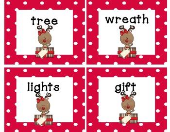 Christmas Syllables Sorting Center