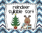 Christmas Syllables Sorting Center
