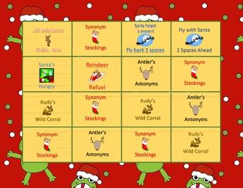 Reindeer Synonyms & Antonyms Game