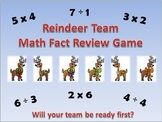 Reindeer Team - Multiplication and Division Review Game