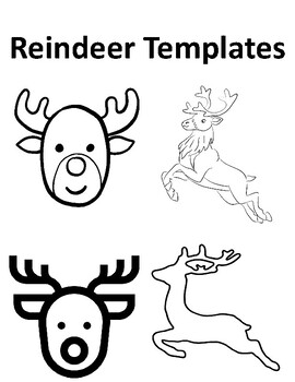 Reindeer Pictures To Color