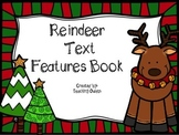 Reindeer Text Features Book