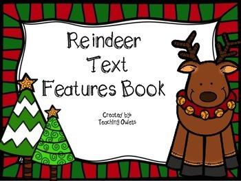 Reindeer Text Features Book