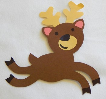 Reindeer Thematic Unit & Craft
