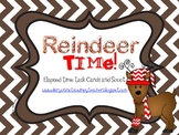 Reindeer Time: Elapsed Time Task Cards or Scoot