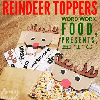 Reindeer Topper Craft Freebie