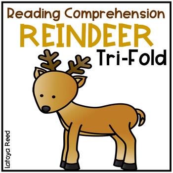 Reindeer Tri-Fold