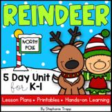 Reindeer Unit for Kindergarten and First Grade