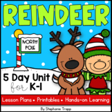 Reindeer Unit for Kindergarten and First Grade
