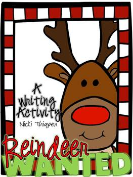 Reindeer Wanted--A Writing Activity