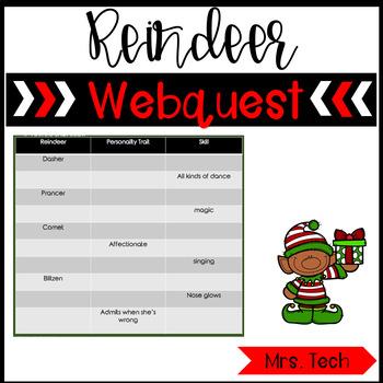 Reindeer Webquest