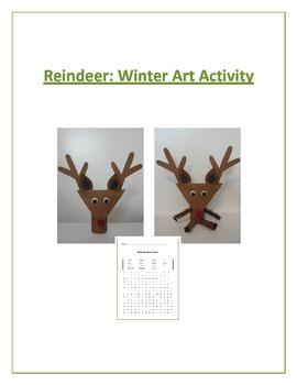 Reindeer: Winter Art Activity