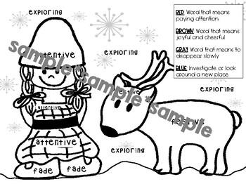 The Christmas Wish and Reindeer Wish Activities