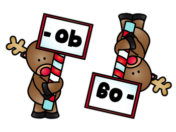 Reindeer Word Family Sort: Short O