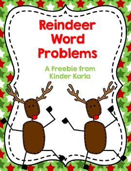 Reindeer Word Problems
